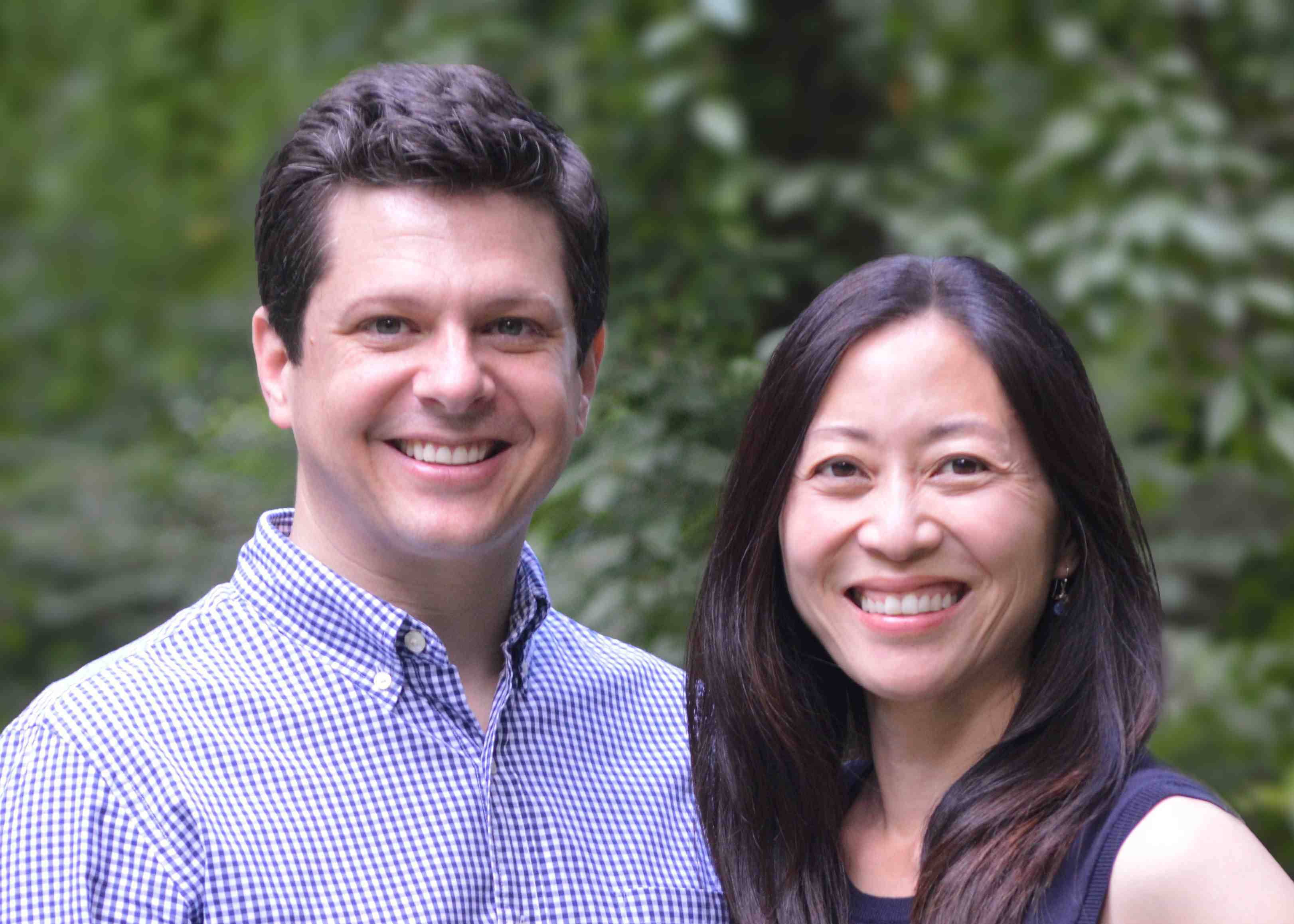 Christoper Weyant and Anna Kang