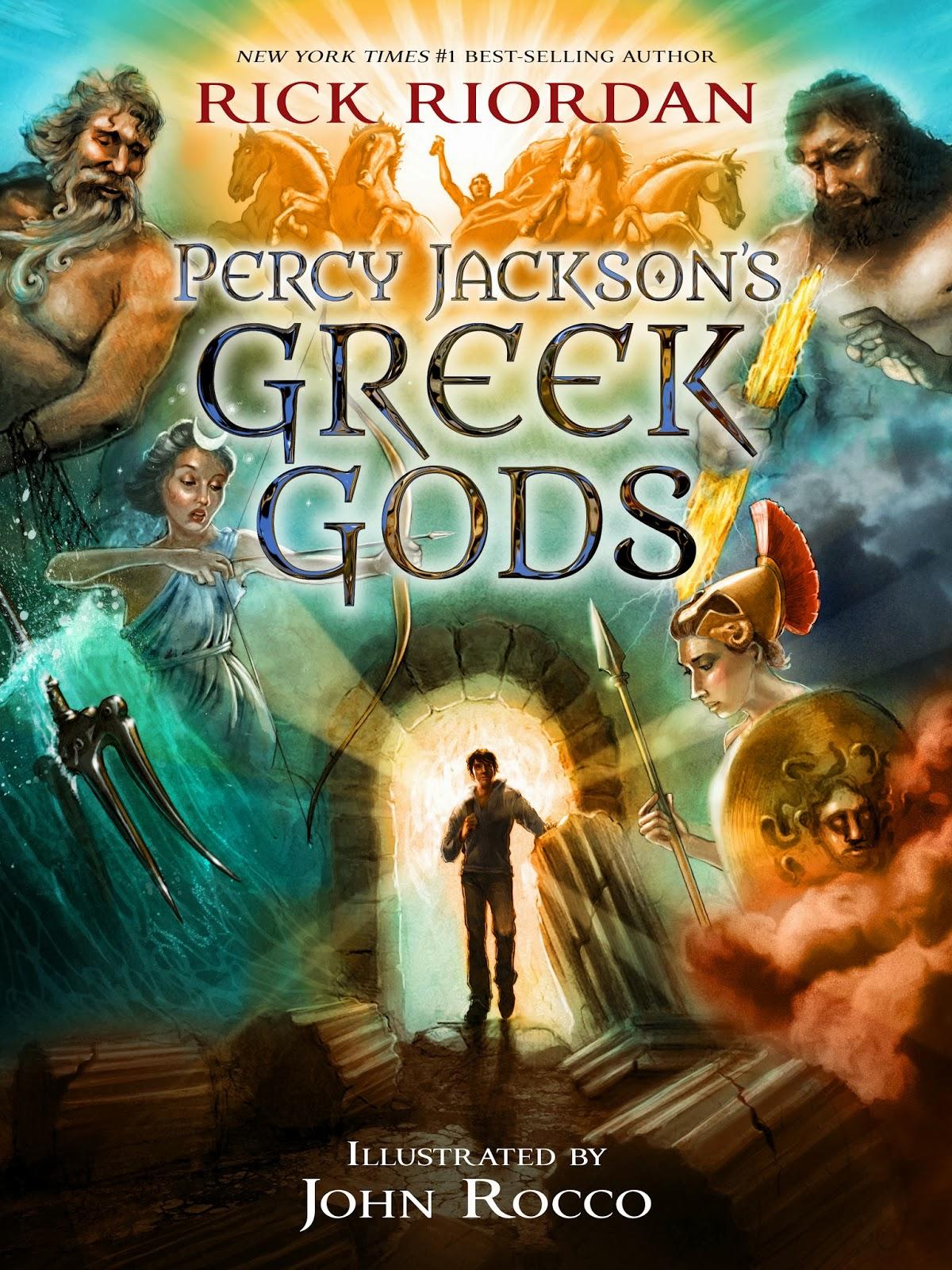 Percy Jackson GreekGods