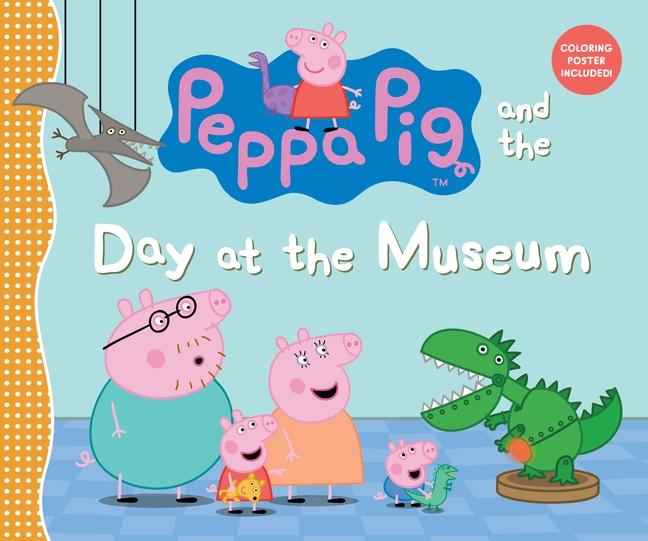 Peppa at museum