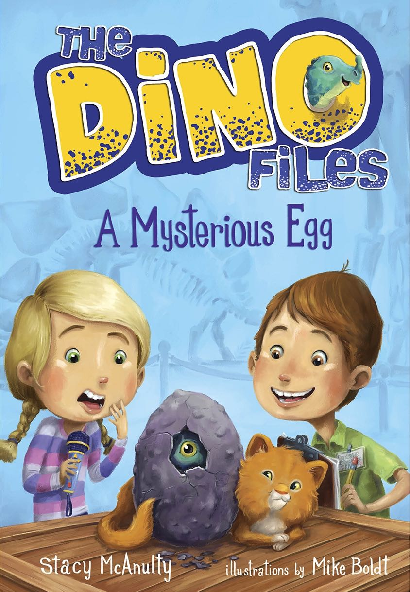 Dino Files mysterious-egg