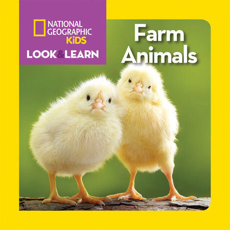 Look and Learn Farm Animasl