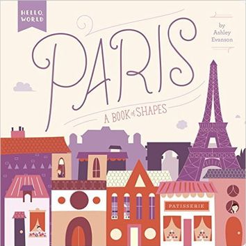 Paris book of shapes
