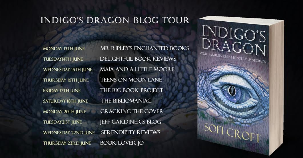 Indigo's Dragon Blog Tour