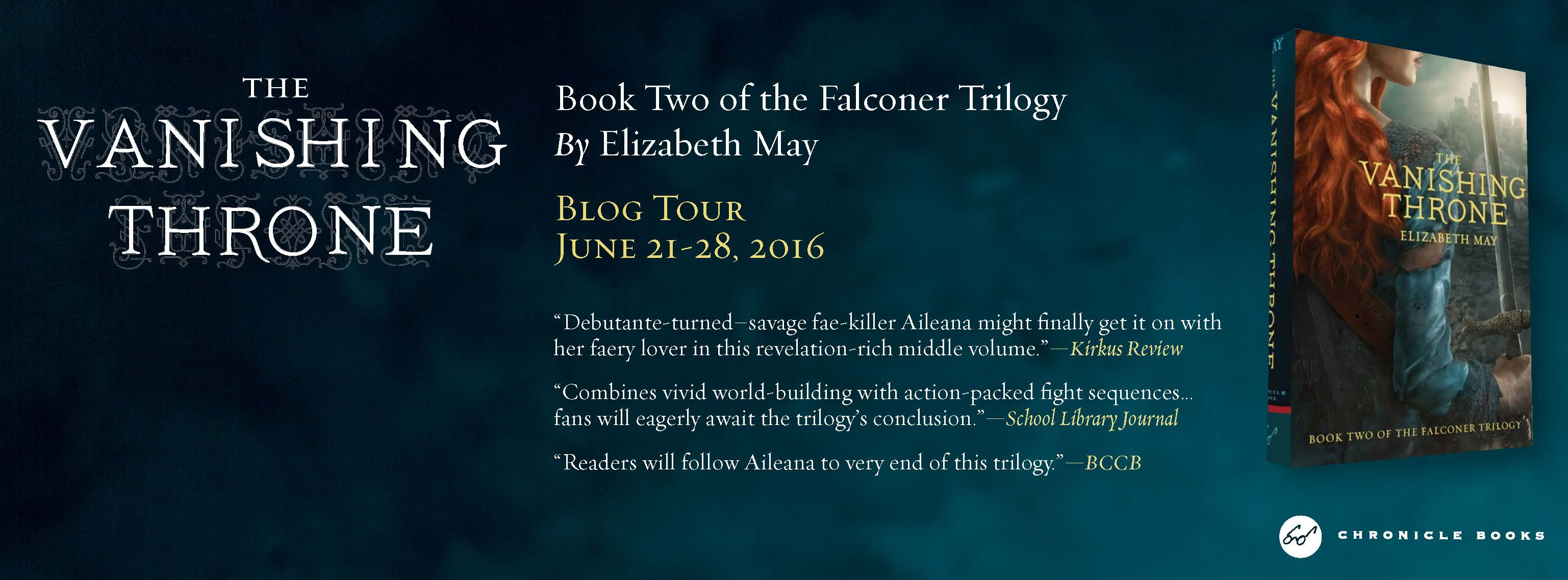 Vanishing Throne Blog Tour Banner