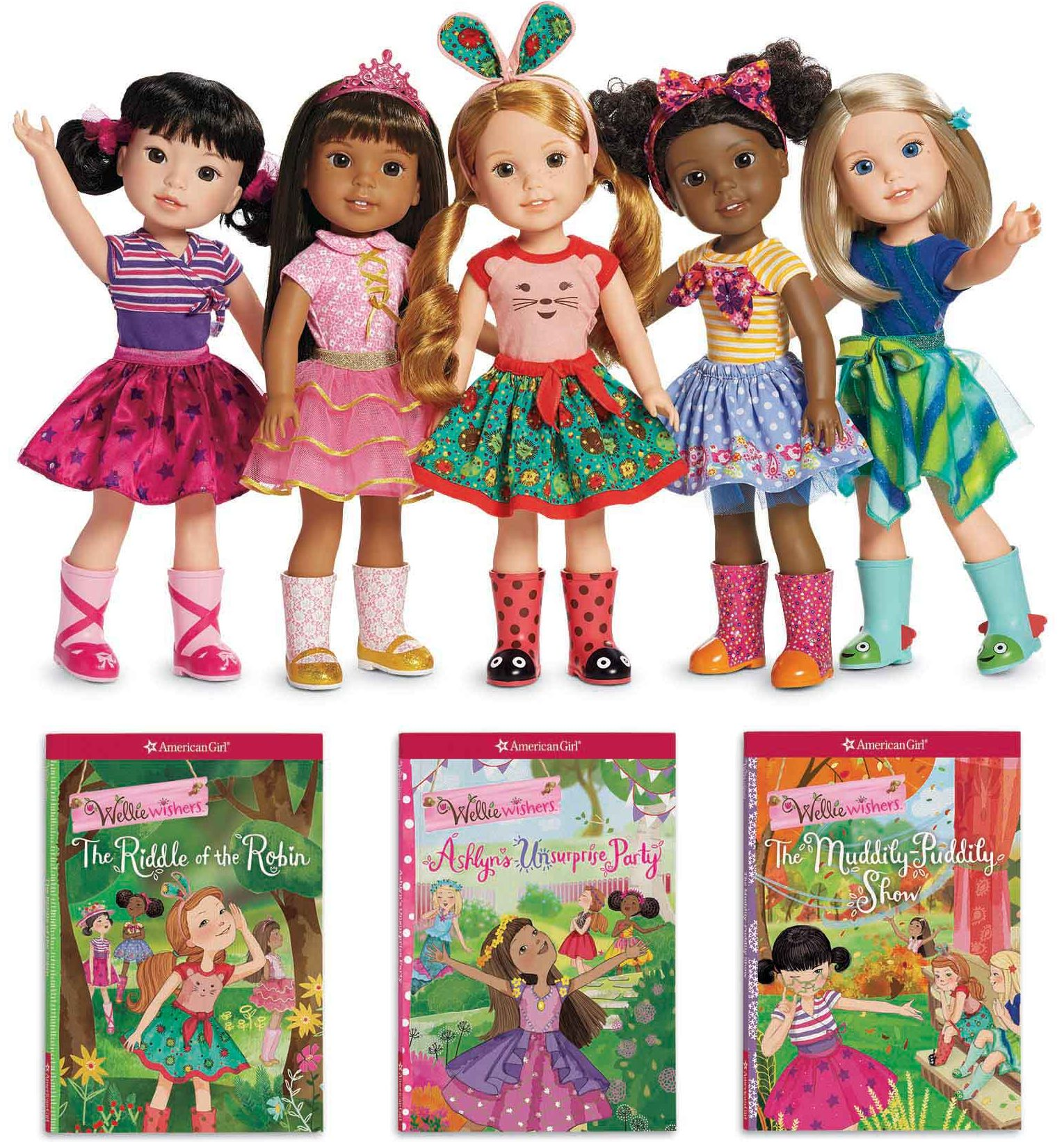 review american girl s welliewishers books and dolls are worth the