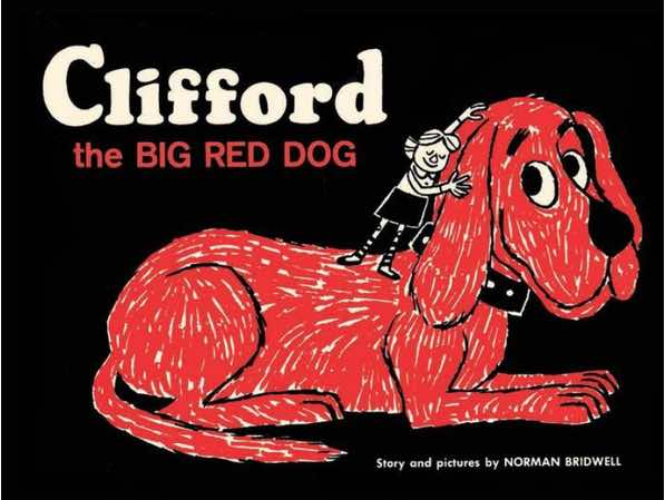 clifford-big-red-dog-vintage