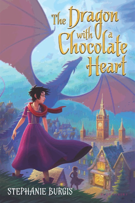 Dragon Chocolate Heart Stephanie Burgis