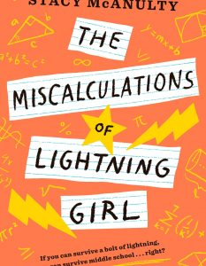 Miscalculations of Lightning Girl Stacy McAnulty