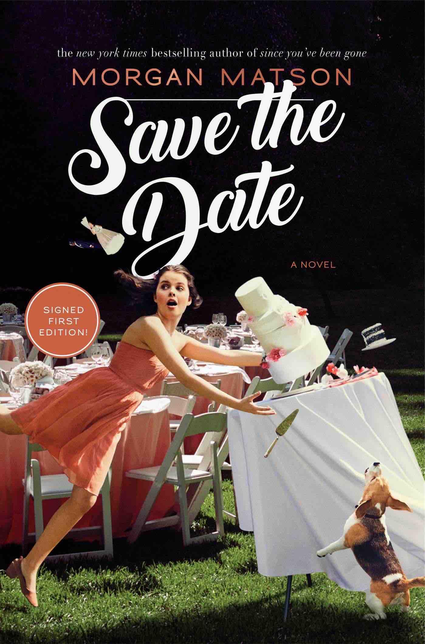 save-the-date Morgan Matson