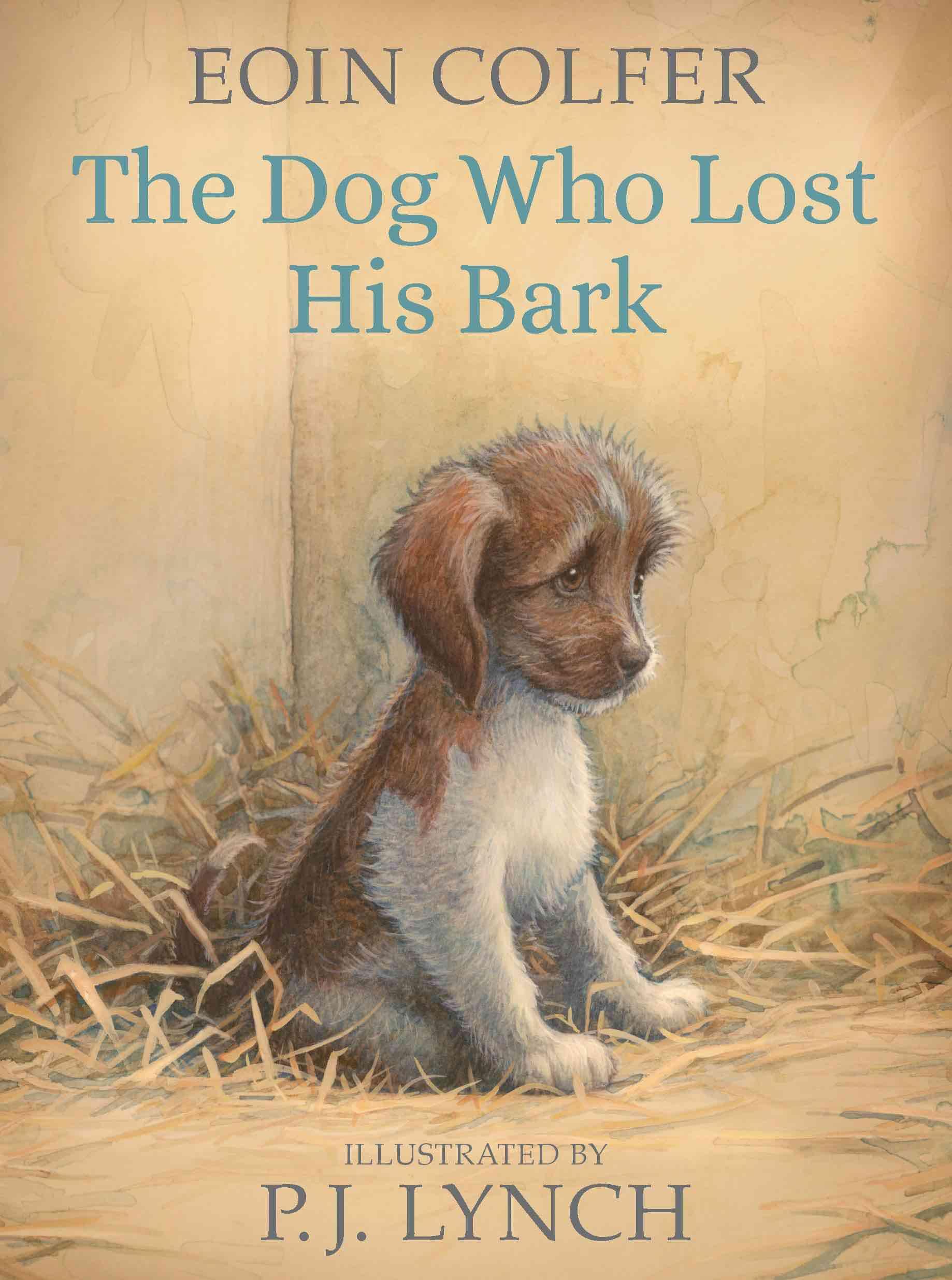 Dog who lost bark
