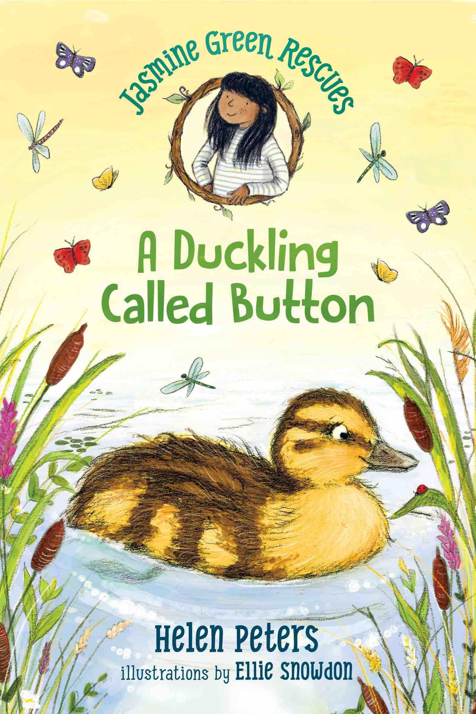 Jasmine Green Duckling Called Button