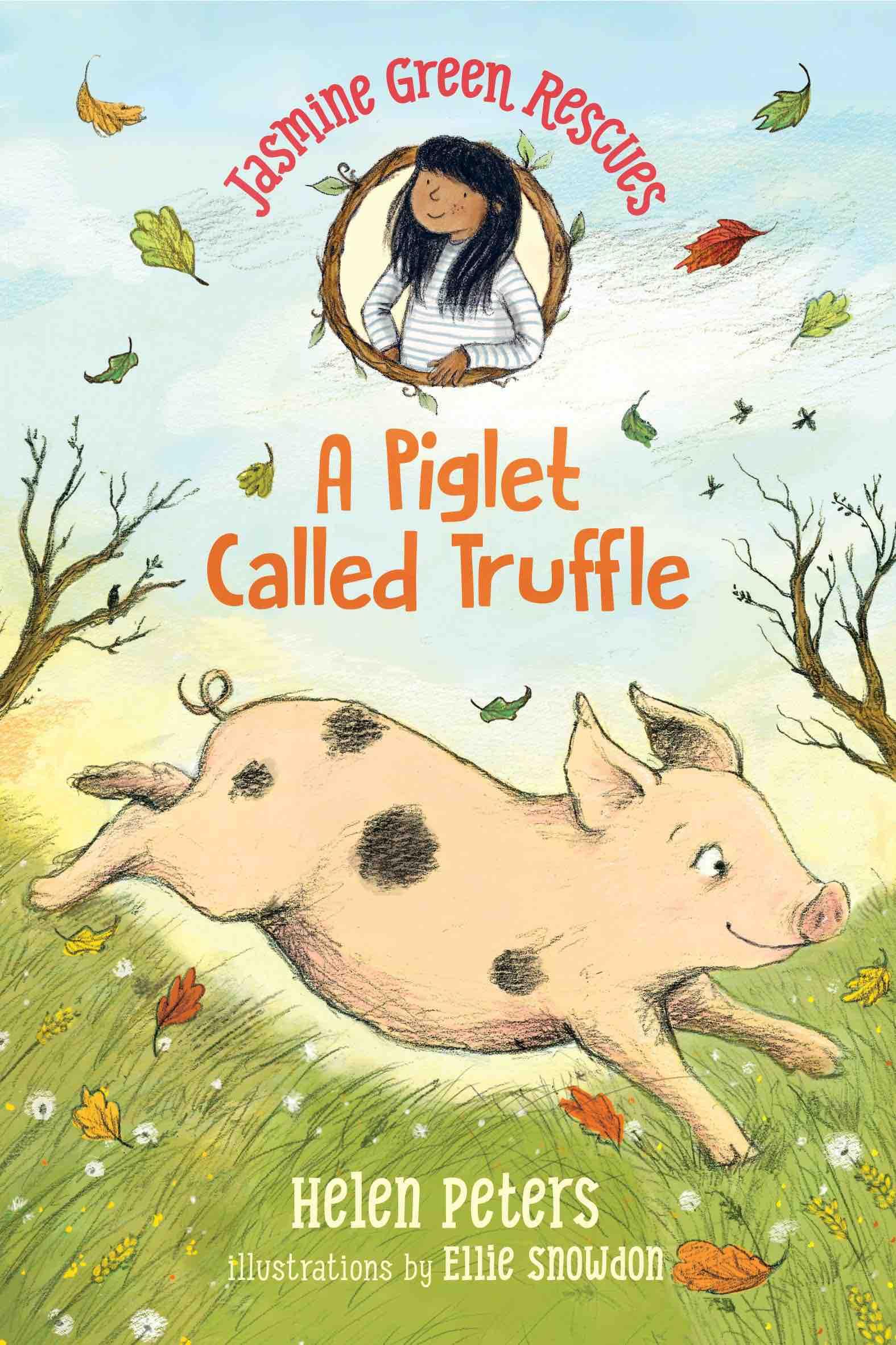 Jasmine Green Piglet Called Truffle