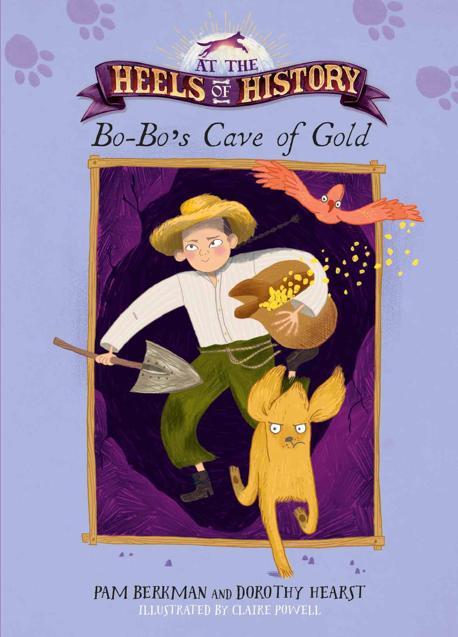BO-BO'S CAVE OF GOLD cover middle grade