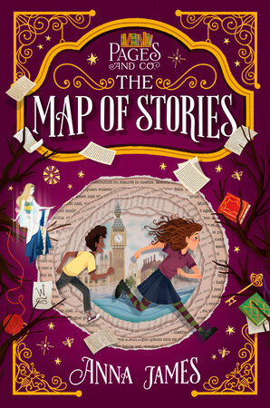 Map of Stories Pages & Co.