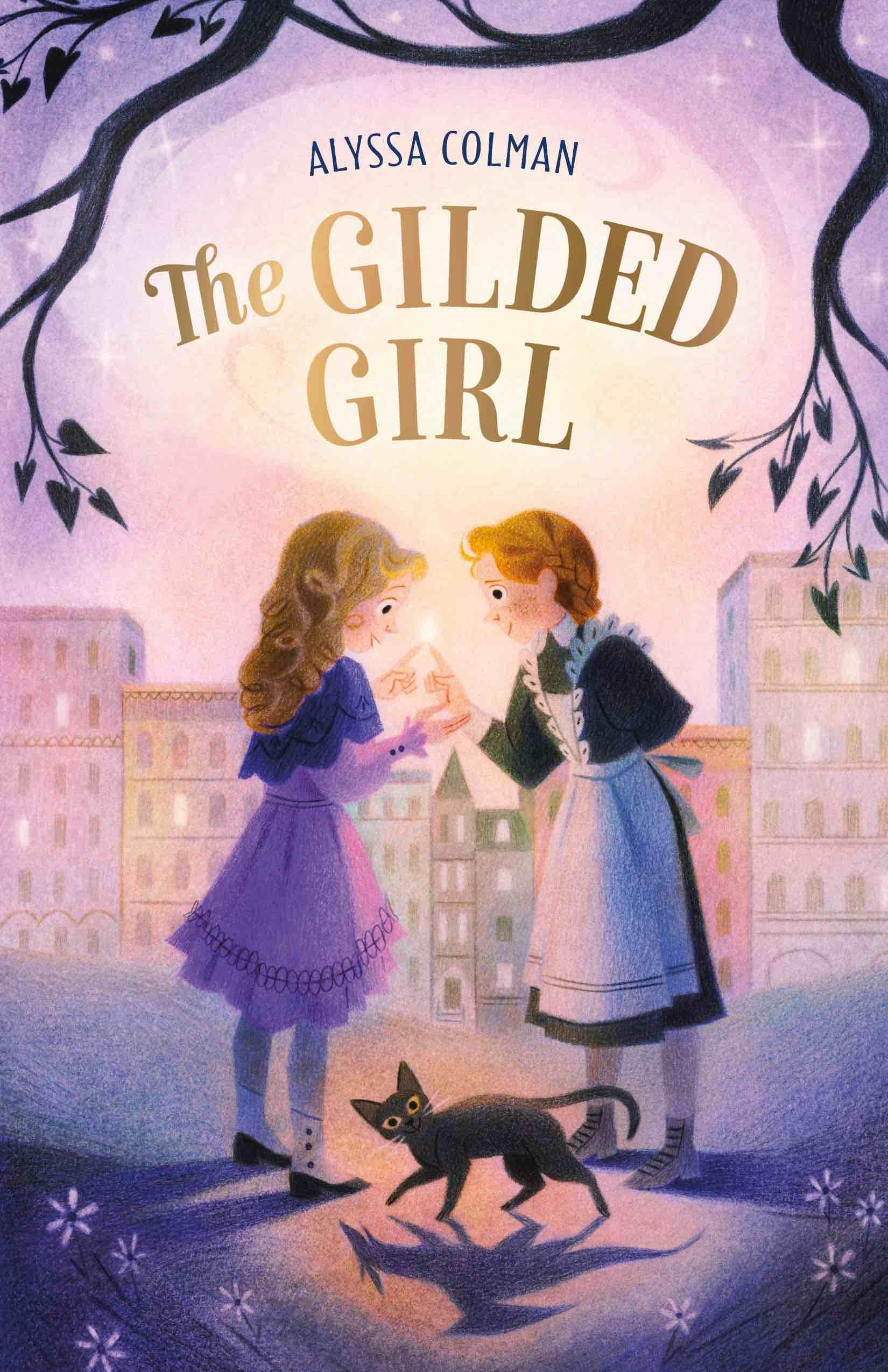 Gilded Girl Alyssa Colman